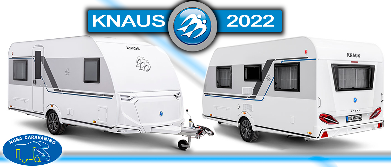 Así serán las nuevas Caravanas KNAUS SPORT 2022 / Nusa Caravaning